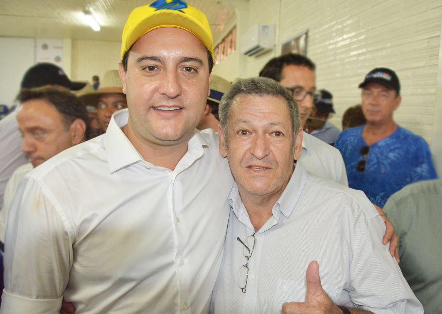 Pegoraro participa de encontro com governador Ratinho Júnior