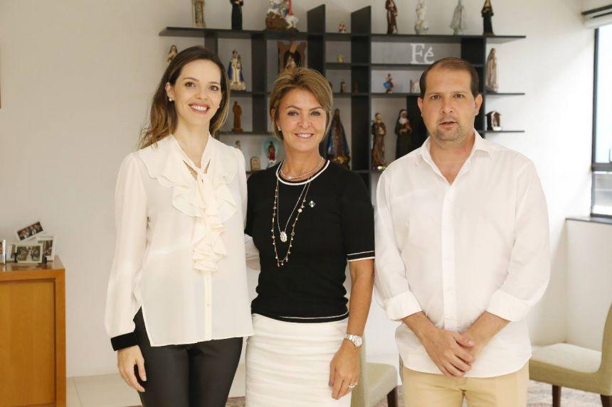 Fernanda Richa recebe prefeito de Assis e primeira dama Franciane Micheletto