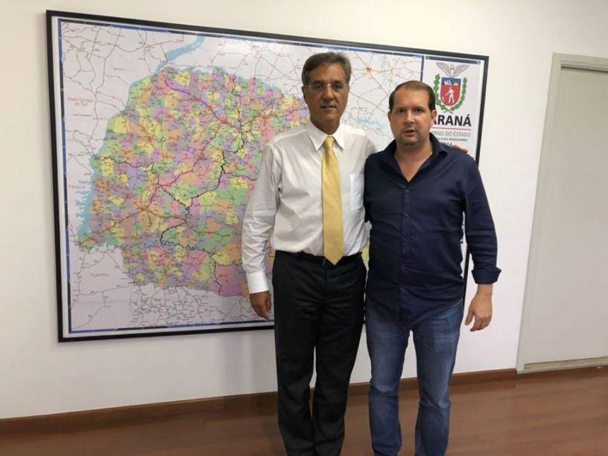 Marcel protocola pedido de 2,5 milhões para aplicar em infraestrutura