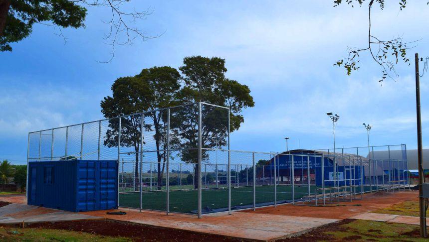 Arena Multiuso Praça Guarani esta fase de conclusão