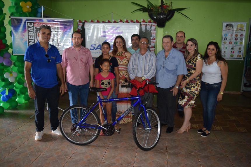 Entregue bicicletas sorteadas no Natal Luz 2017