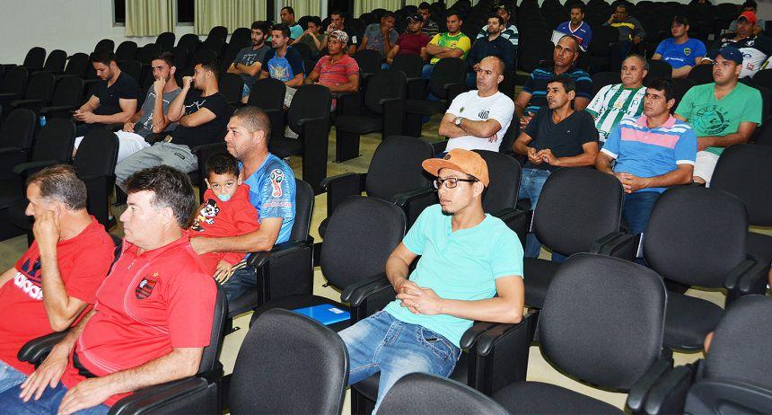 Congresso técnico definiu regulamento e divisão de grupos