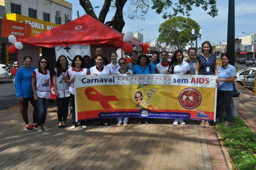 Assis realiza pedágio de conscientização de Carnaval