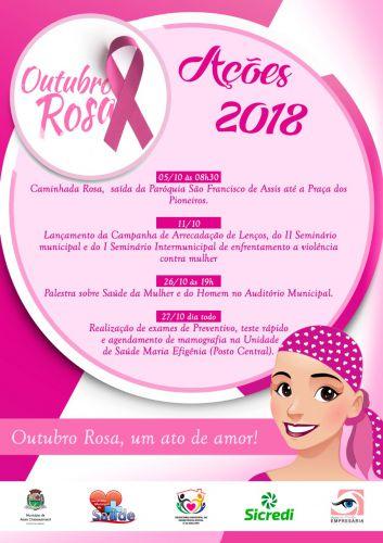Outubro Rosa: Assis define ações da campanha