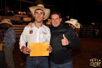 Andrei Scoparo foi o grande vencedor do Rodeio