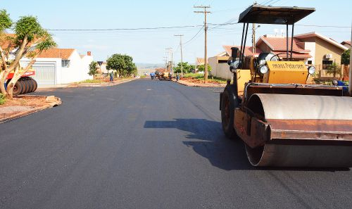 Pavimentação: Jardim Paraná começa a ser asfaltado