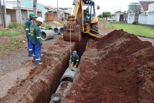 Iniciado obras de asfalto no Europa e Paraná