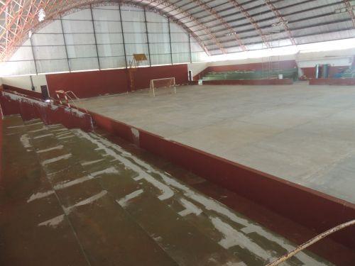 Escola Nellita Ramos Sabella em Assis passa por reformas