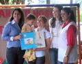 O mesmo material também foi entregue no CMEI Criança Esperança.