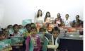 Entrega simbólica do sistema na Escola Municipal Mercedes Carrilho