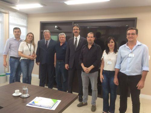 Micheletto volta a discutir ODS durante reunião na Itaipu Binacional