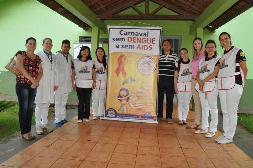 Saúde de Assis realiza Campanha: Carnaval sem AIDS