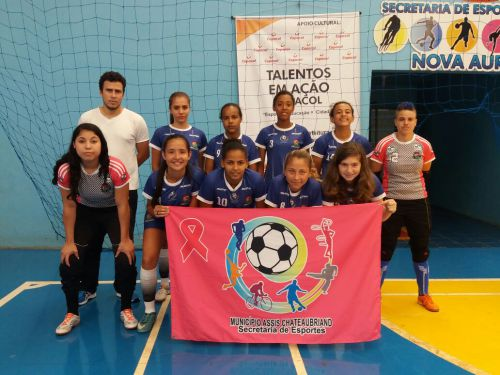 Futsal feminino garante vaga para a final do Sulbrasileiro