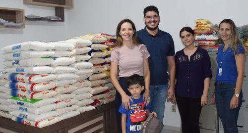 ACEU repassa 500kg de alimentos para Assistência Social de Assis