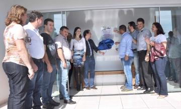 A Academia da Saúde tem área total de 106.74 m² e está localizada ao lado do Ginásio de Esportes Tancredo de Almeida Neves
