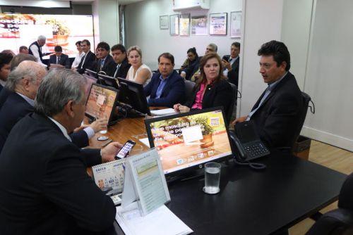 Micheletto participa de audiência com Ministro da Saúde