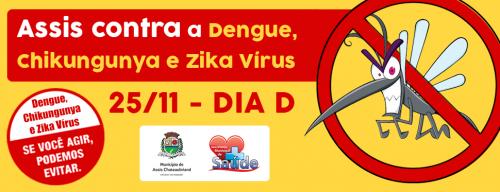 Assis na mobilização nacional para combate ao Aedes aegypti