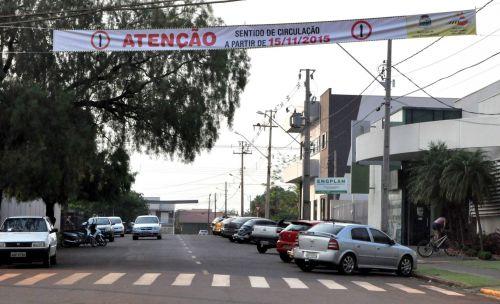 Três ruas terão novo sentido a partir do dia 15 em Assis