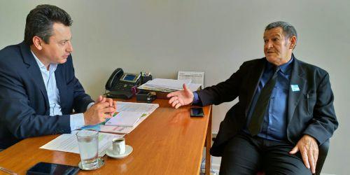 Pegoraro participa de encontro de prefeitos com Temer e tenta recursos em Brasília