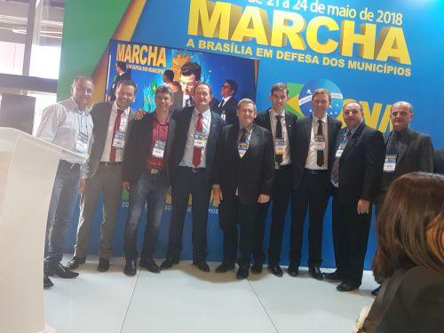 Pegoraro esta otimista com 21ª Marcha de Prefeitos em Brasília