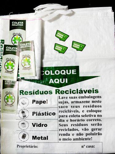 Mutirão de orientação sobre recicláveis acontece neste sábado