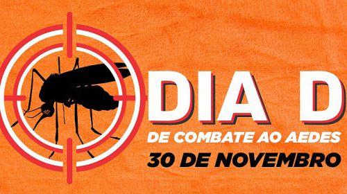 Dengue: Sexta-feira é o Dia D de Combate ao Aedes