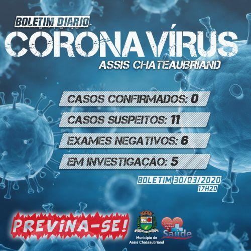 Secretaria de Saúde de Assis lança Boletim Diário do Coronavírus