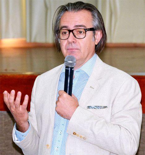 Promotor de Justiça de Cascavel, Luciano Machado, que abordou o tema ?Trabalho de Adolescentes: do Direito à Proteção?