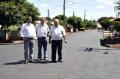 Várias ruas receberam o serviço de recape asfáltico