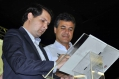 Marcel Micheletto e Beto Richa firmam Termo de Cooperação
