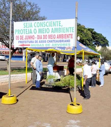 A ação marcou o dia do meio ambiente, comemorado no dia  5 de junho