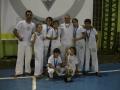 Sete atletas integrantes do grupo de capoeira SUCENA, representaram Assis na cidade de Maringá