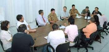 Reunião discutiu medidas para garantir a segurança no Centro de Eventos