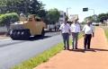 Serviço semelhante de recapeamento foi realizado nas Avenidas Radial Leste e México. Serão mais 11 mil 102 metros quadrados recapados.