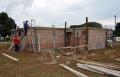 A academia terá área total de 106.74 m2 e esta sendo construída ao lado do Ginásio de Esportes Tancredo de Almeida Neves
