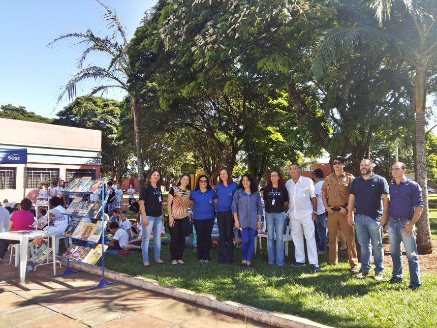Lançamento do Projeto BiblioSesc movimenta Araruna. Fotografia: Jhony de Oliveira Lima.
