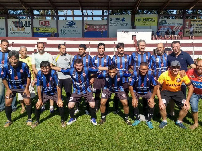 Iza Tecidos/Coléginho é a grande vencedora do Campeonato Municipal de Futebol Suíço 2017 - Categoria Livre. Foto: Welington Aguiar Santana.