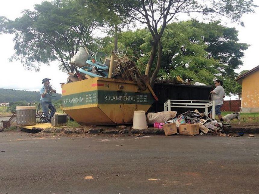 A iniciativa possibilitou a coleta e destinação final adequadas de aproximadamente 300 toneladas de resíduos sólidos. Fotografia: Tatiane Ferretti.
