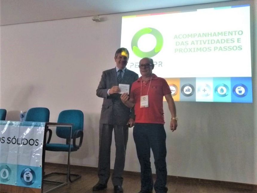 Chefe do Setor de Agricultura e Meio Ambiente de Araruna, Robson Badoco este presente na ocasião. Fotografia: Robson Badoco.
