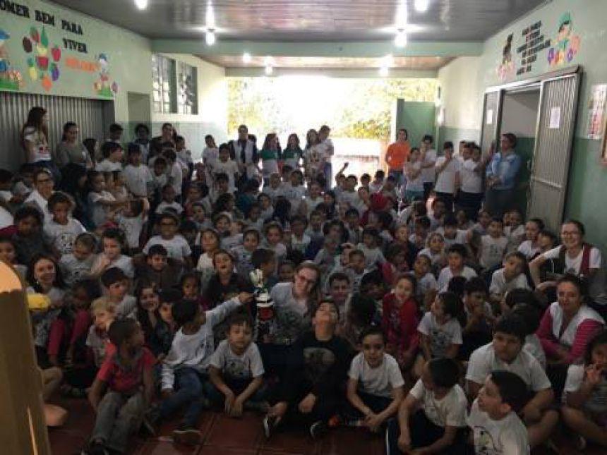 Orgão Gestor Municipal Realiza Atividades nas Escolas de Araruna e Distritos com o tema : BULLYING.