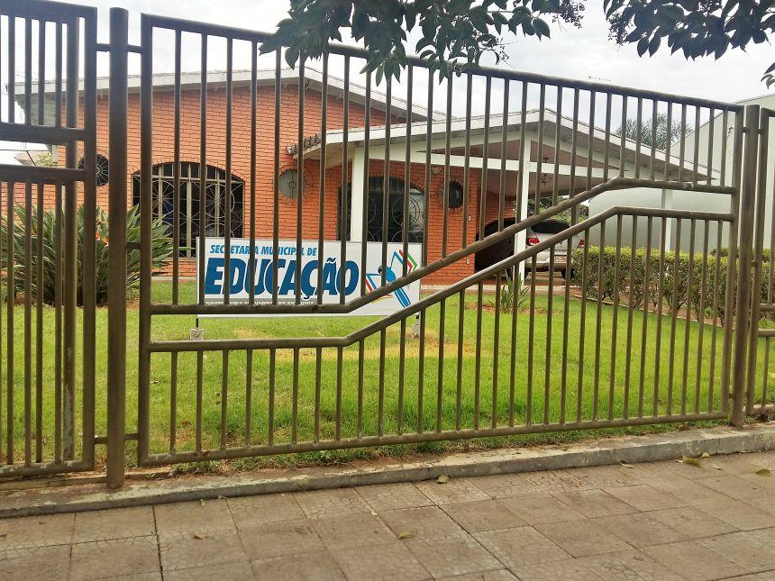 Nova sede da Secretaria Municipal de Educação de Araruna. Fotografia: Jhony de Oliveira Lima.