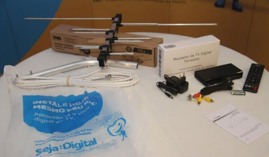 Kits de Tv Digital serão entregues a ararunenses