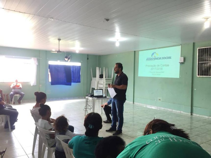 O Centro de Referência de Assistência Social (CRAS) está oferecendo diversos serviços para a comunidade