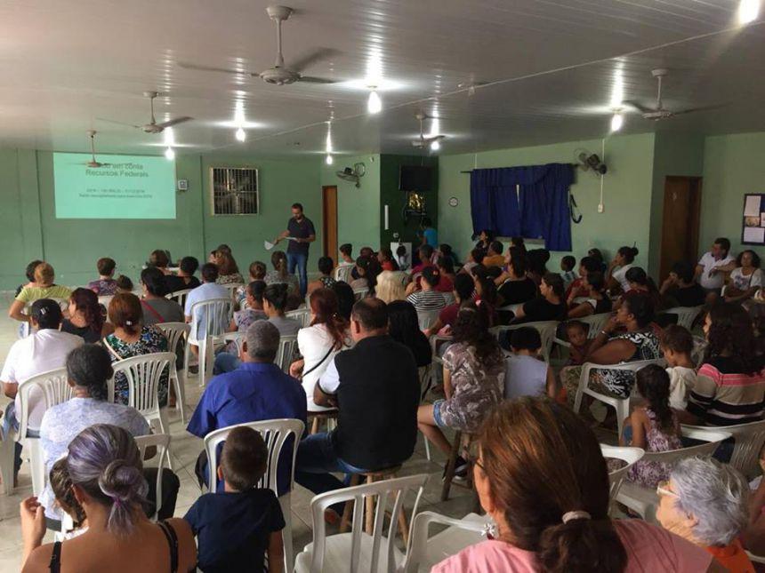 CRAS oferece diversos serviços para a comunidade