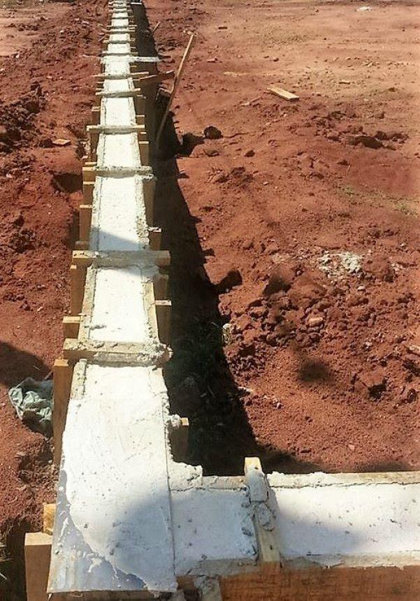 Iniciada a construção da quadra coberta em São Geraldo
