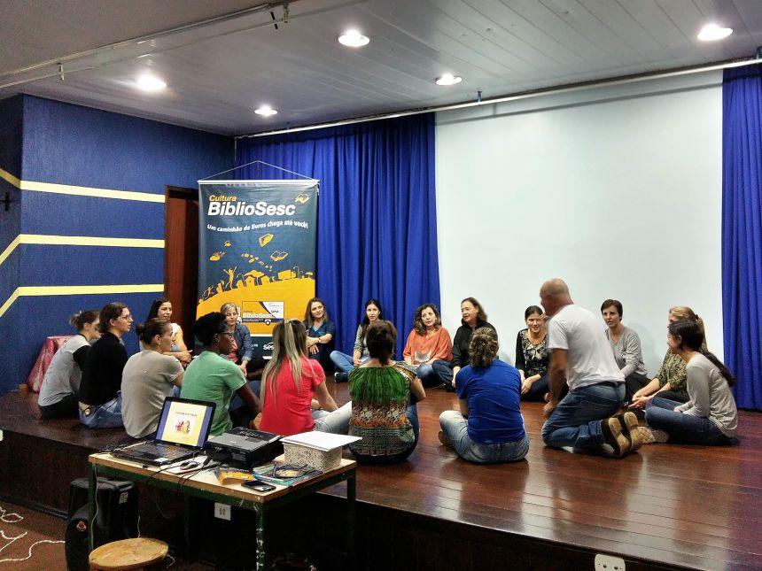 Sesc inicia curso de contação de histórias em Araruna