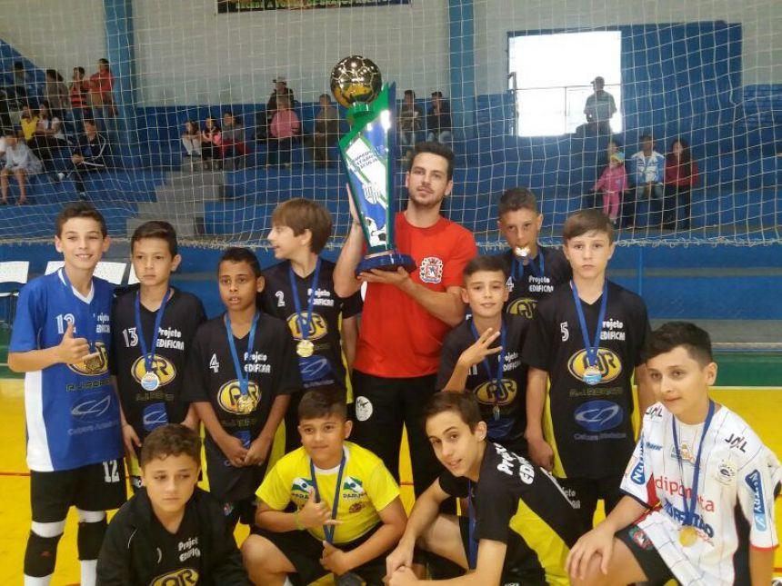 Araruna conquista 3º lugar em Campeonato Paranaense de Futsal