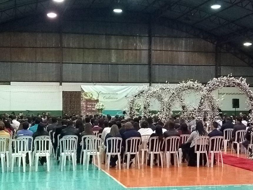 Casais de Araruna se unem em matrimônio em Casamento Coletivo