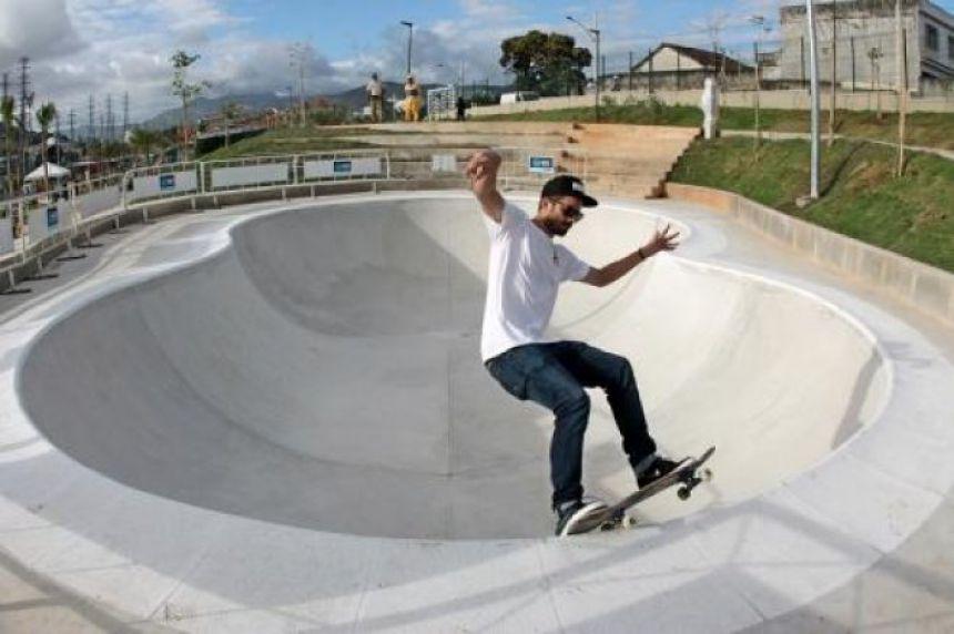 Pista de Skate será construída em Araruna. A imagem é meramente ilustrativa. Fotografia: Google.