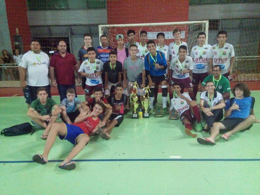 Araruna terá nova rodada do Paranense de Futsal NFP